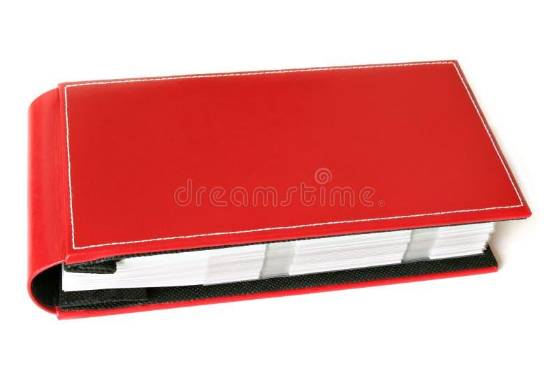 zdjęcia albumowa czerwony obrazy stock