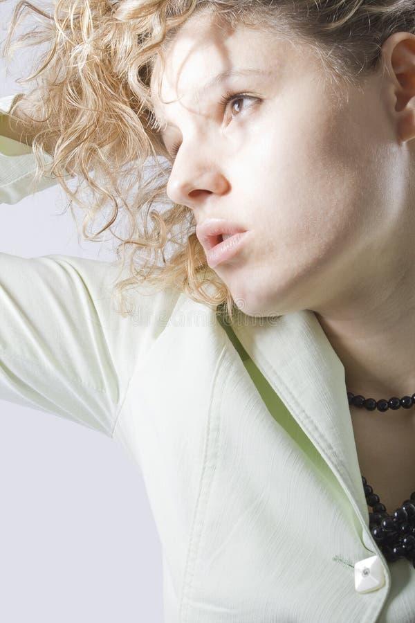 zdjęcia mody sztuki pięknej kobiety obraz royalty free