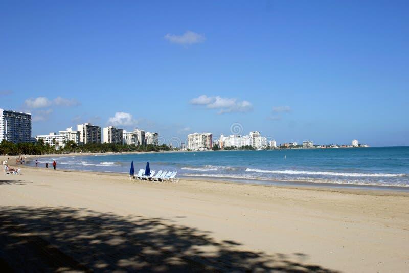 zdjęcia na plaży puerto rico obrazy royalty free