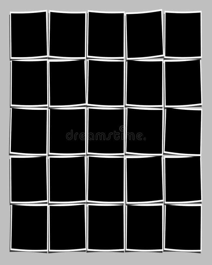 zdjęcia odcisków tło ilustracja wektor