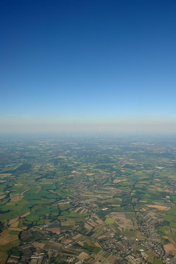 zdjęcie lotniczej zdjęcie stock