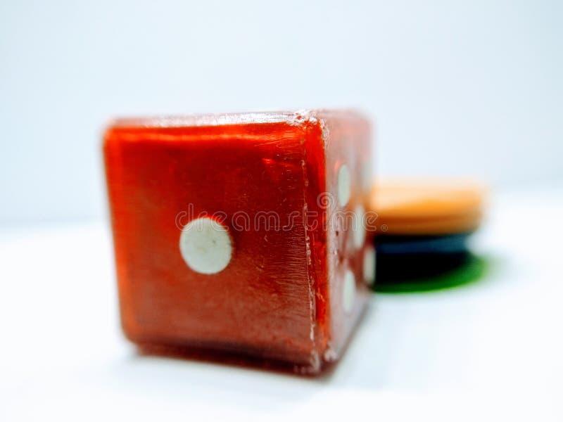Zdjęcie ludo dice, obrazy stock