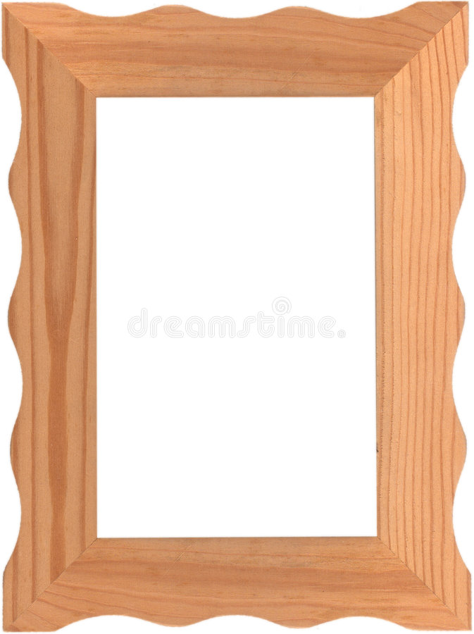 zdjęcie ramowy drewniane obrazy stock