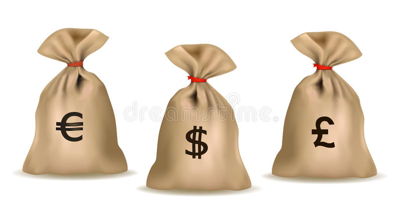 zdojest pieniądze ilustracja wektor