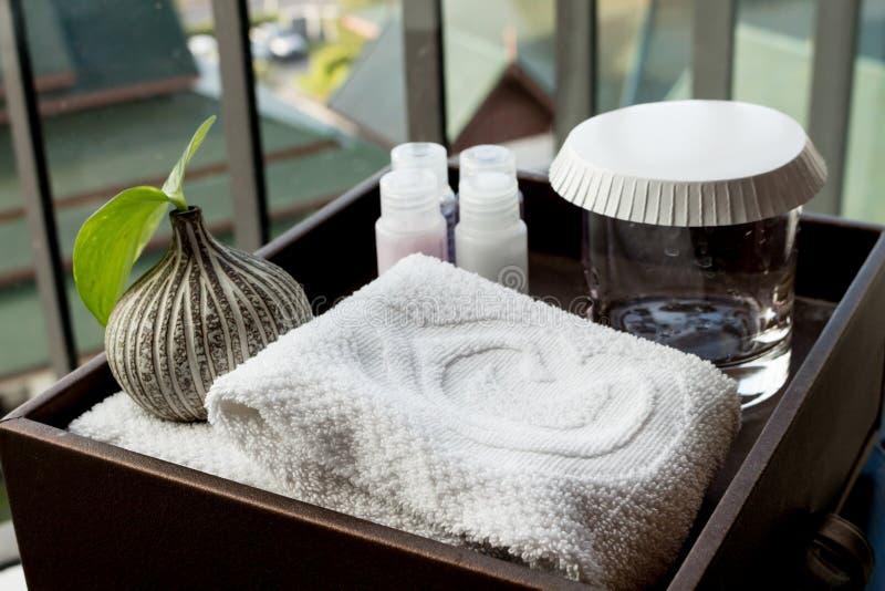 Zdrój ustawiający hotel zdjęcia royalty free