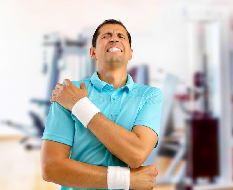Zdradzony sporta mężczyzna zdjęcie royalty free