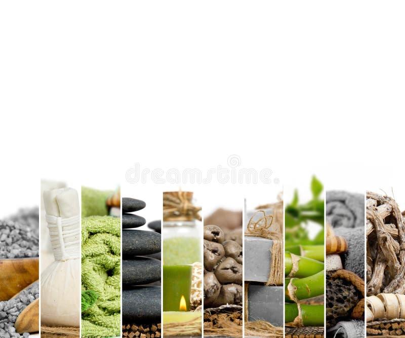 Zdroju Wellness mieszanka obrazy stock