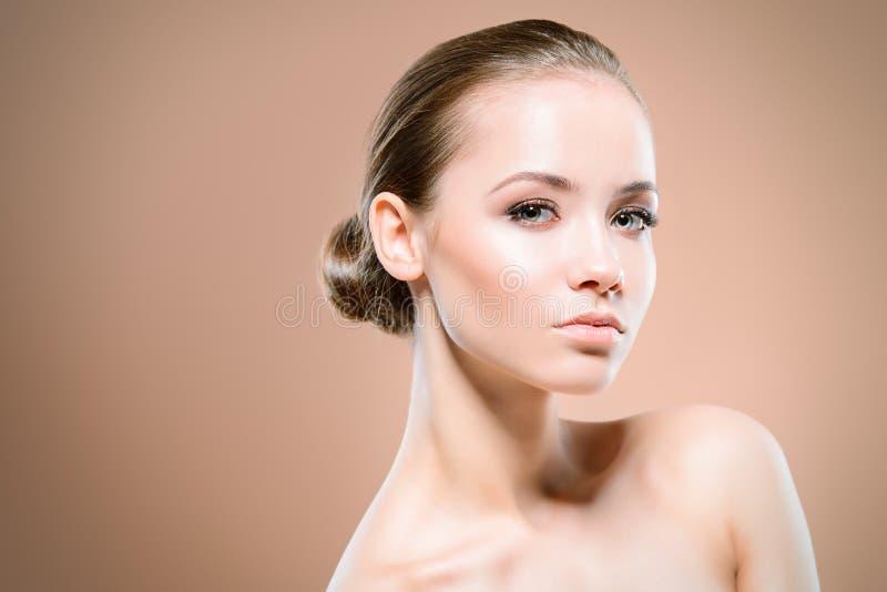 Zdrowa błyszcząca skóra fotografia royalty free