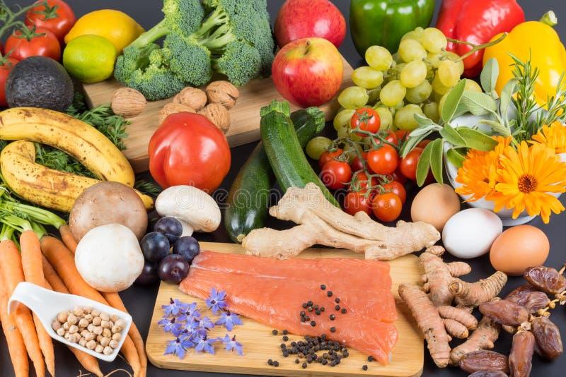 Zdrowa i zrównoważona dieta zdjęcie stock