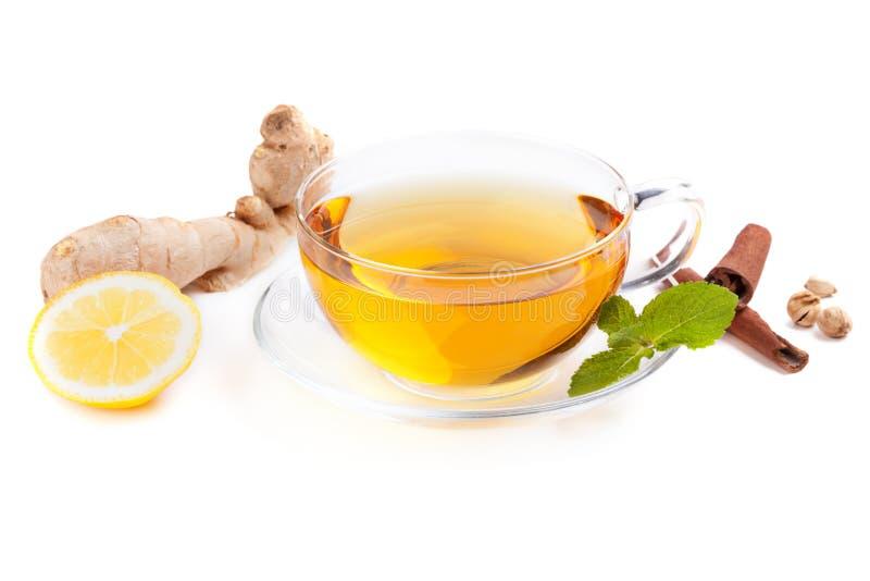Zdrowa imbirowa herbata zdjęcia stock