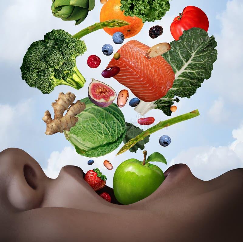 Zdrowa Karmowa dieta ilustracji