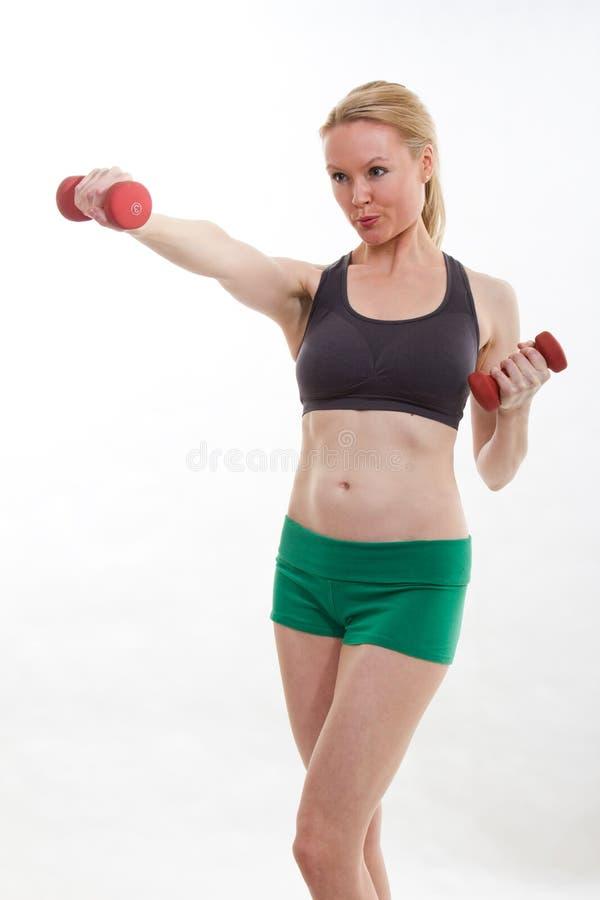 Zdrowa kobieta fotografia stock