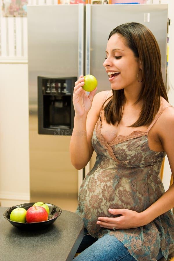 zdrowa kobieta w ciąży obraz stock
