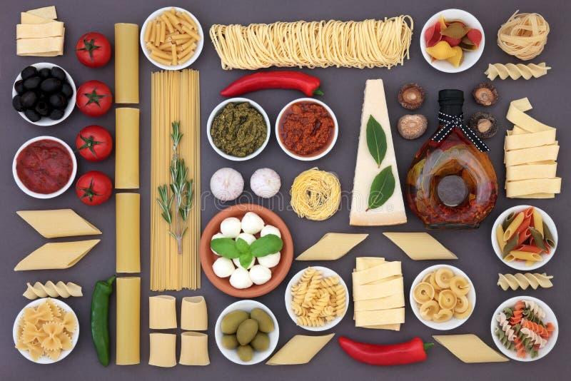 zdrowe jedzenie morza Śródziemnego obraz stock