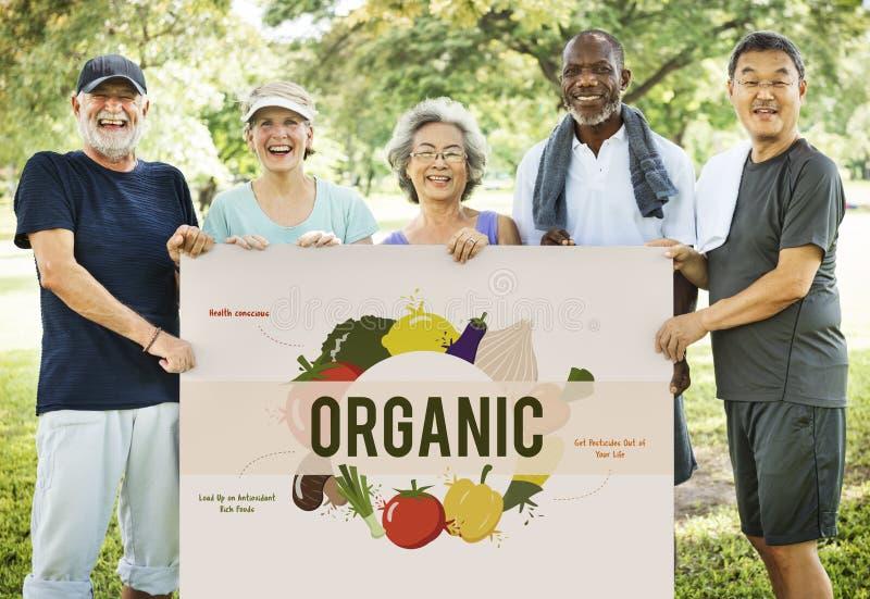 Zdrowego łasowania odżywiania Karmowy pojęcie zdjęcia royalty free