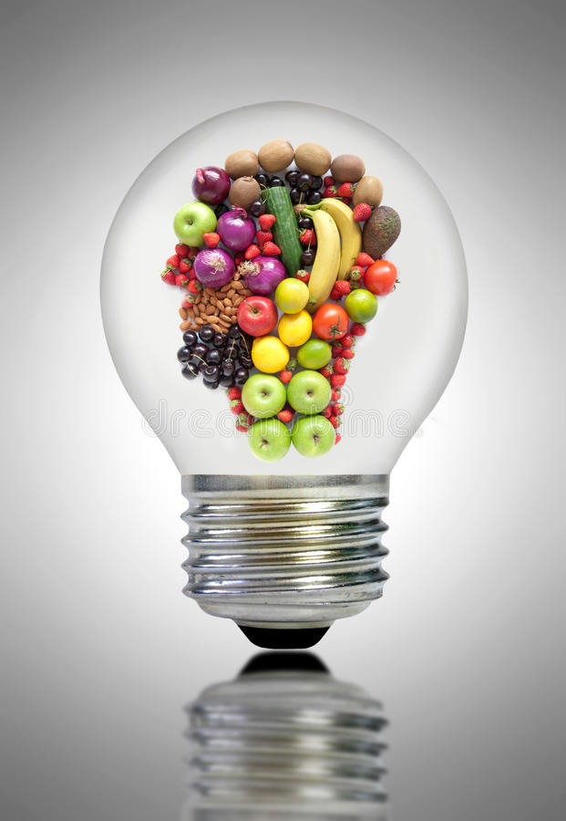 Zdrowej diety inspiracja fotografia stock