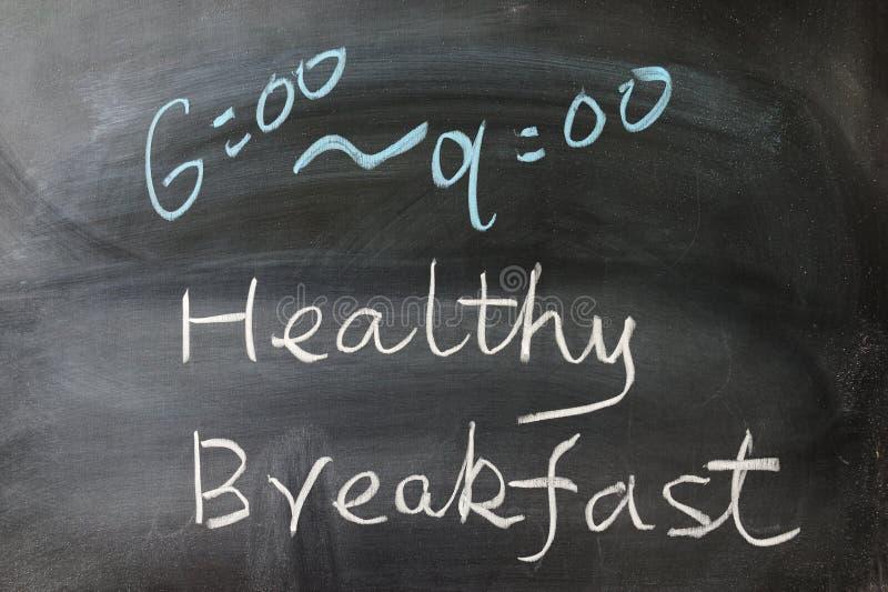 Download Zdrowi śniadań słowa zdjęcie stock. Obraz złożonej z zdrowy - 28956262
