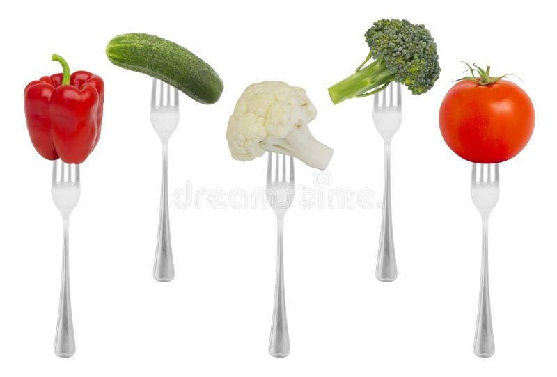 Zdrowi żywienioniowi warzywa zdjęcia royalty free