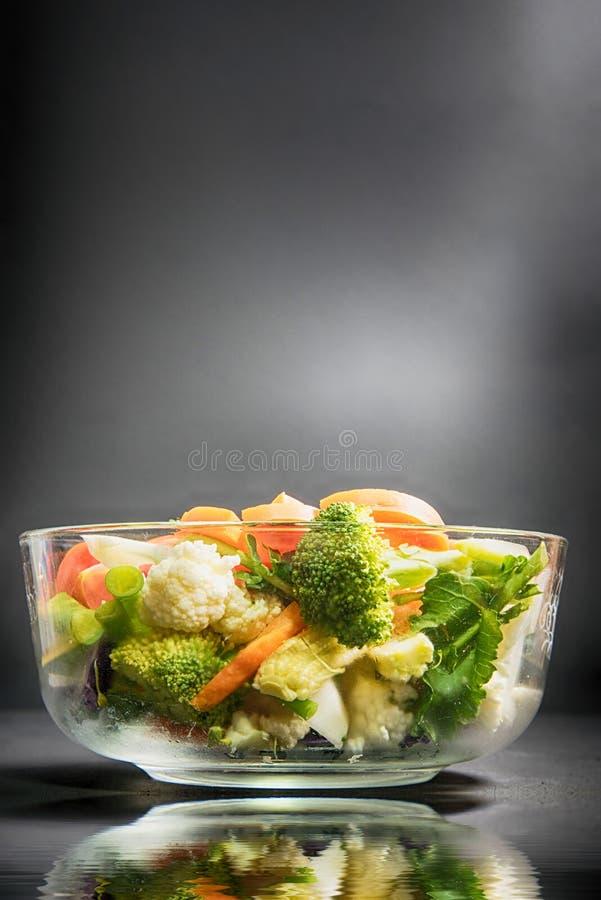 Zdrowi foods są na stole, obraz royalty free