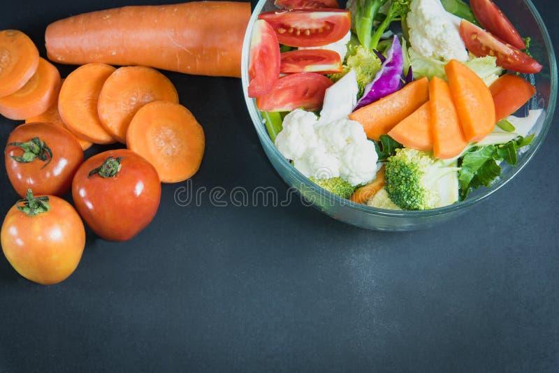 Zdrowi foods są na stole, fotografia royalty free
