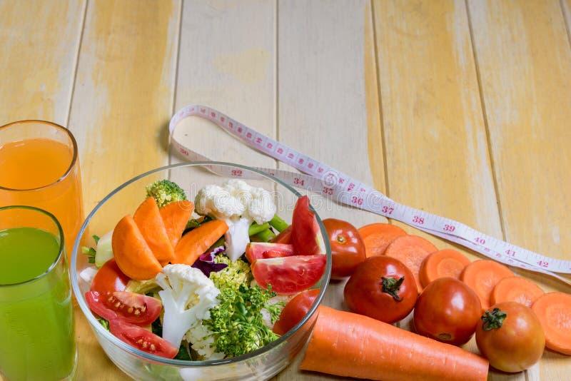 Zdrowi foods są na stole, obraz stock