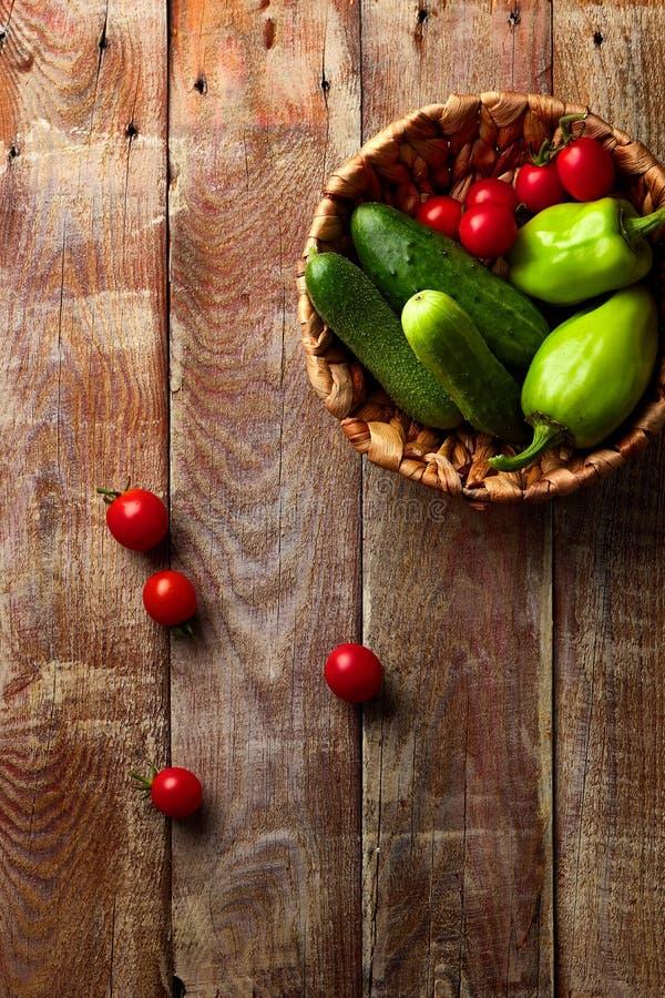 Zdrowi Organicznie Warzywa obraz stock