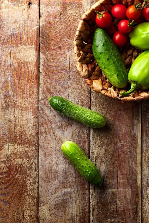 Zdrowi Organicznie Warzywa obrazy royalty free