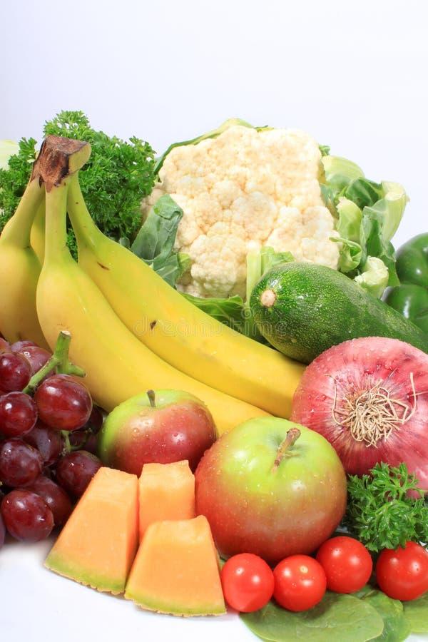 zdrowi owoc warzywa zdjęcia royalty free