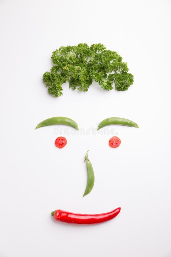 Zdrowi warzywa obraz royalty free