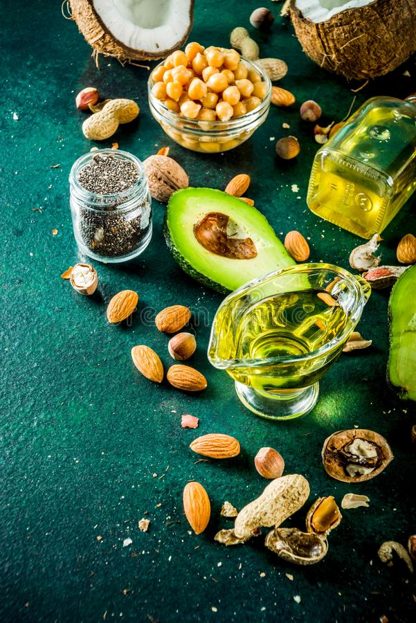 Zdrowi weganinu sad?a ?r?d?a obrazy royalty free