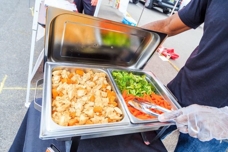 Zdrowia jedzenie Przygotowywa obrazy royalty free