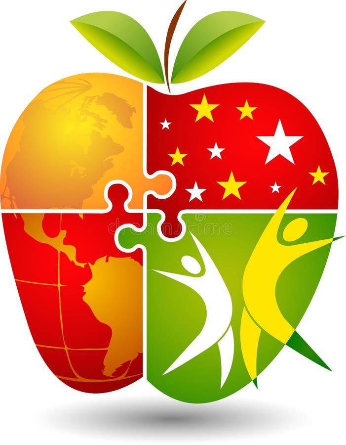 Zdrowie światowy projekt ilustracja wektor