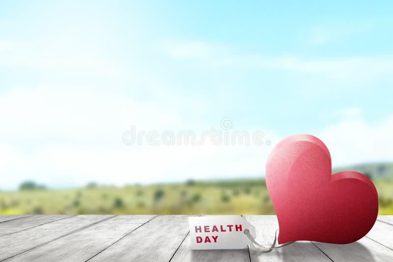 Zdrowie dnia pojęcie royalty ilustracja