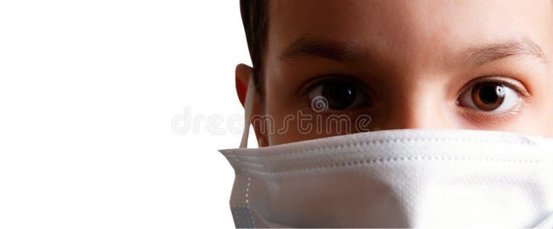zdrowie dziecka maska obrazy royalty free