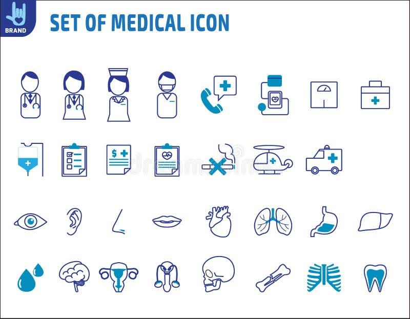 Zdrowie elementu projekta medyczna wektorowa infographic ilustracja zdjęcie royalty free