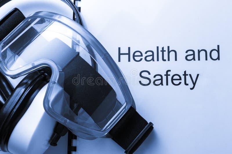 Zdrowie i bezpieczeństwo rejestr obrazy royalty free