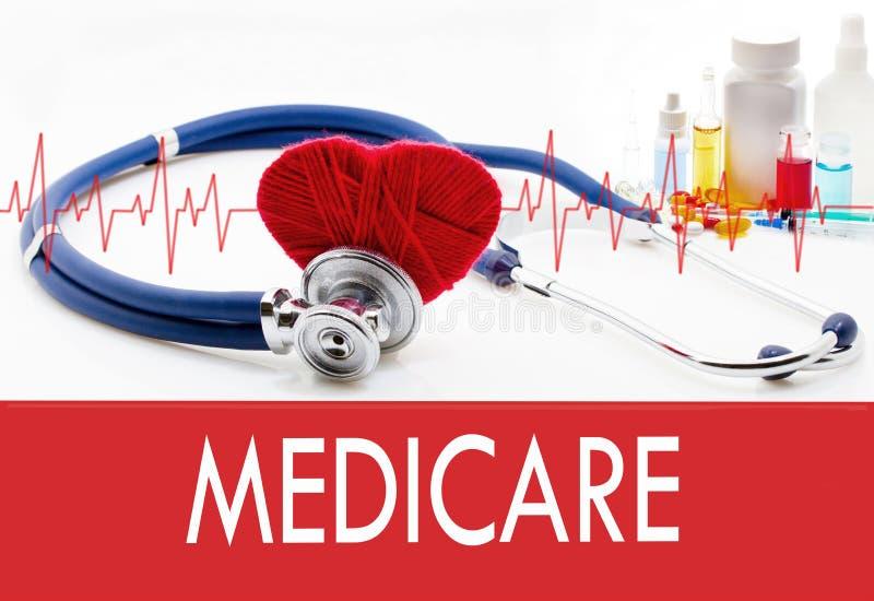 Zdrowie inwigilacja, Medicare zdjęcia stock