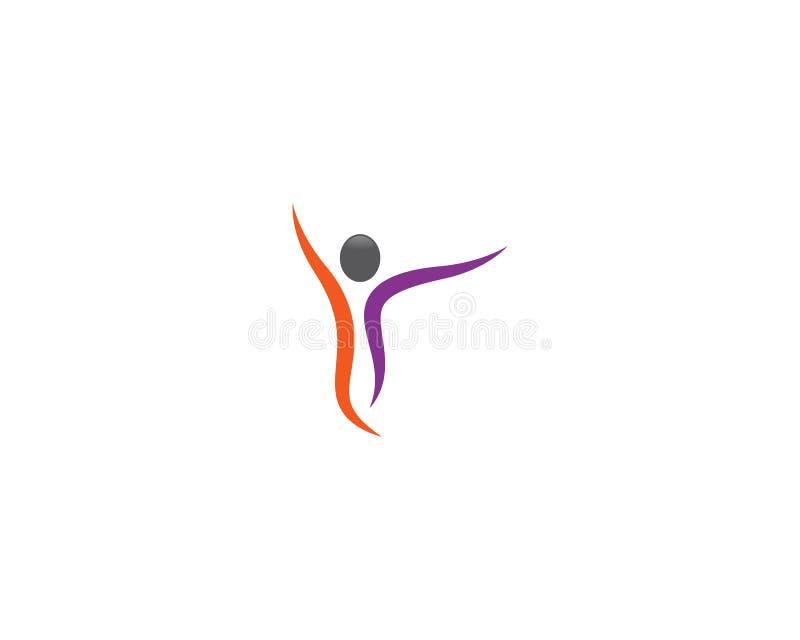 Zdrowie ludzkie symbolu ilustracja royalty ilustracja