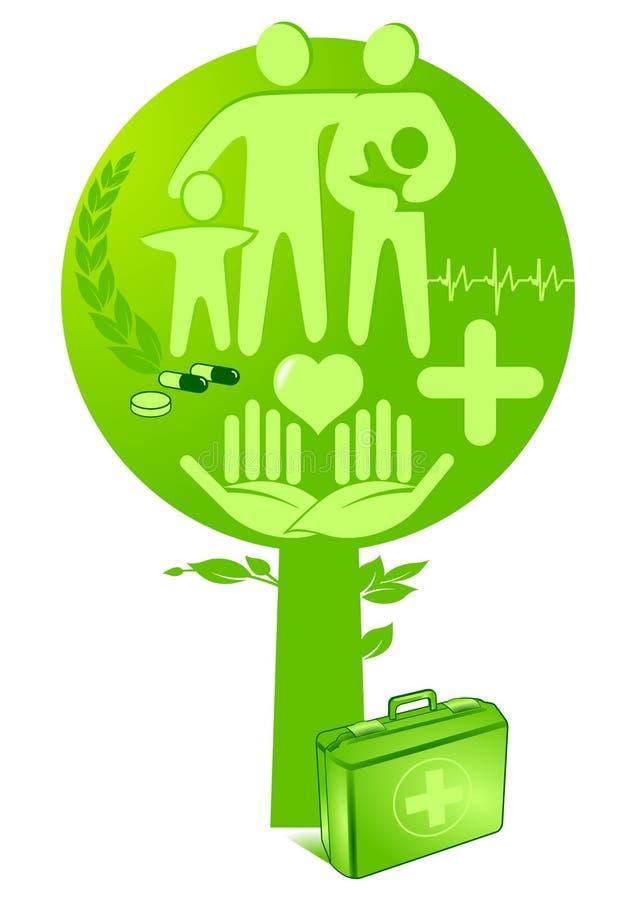 zdrowie medycyny drzewo ilustracji