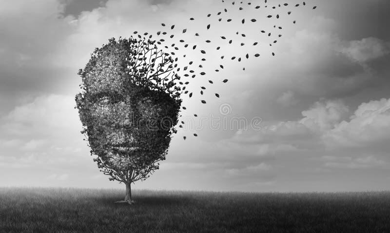 zdrowie mentalne royalty ilustracja