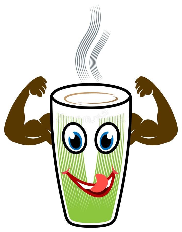 Zdrowie napój royalty ilustracja
