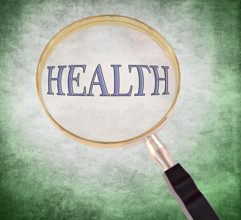 Zdrowie powiększają royalty ilustracja