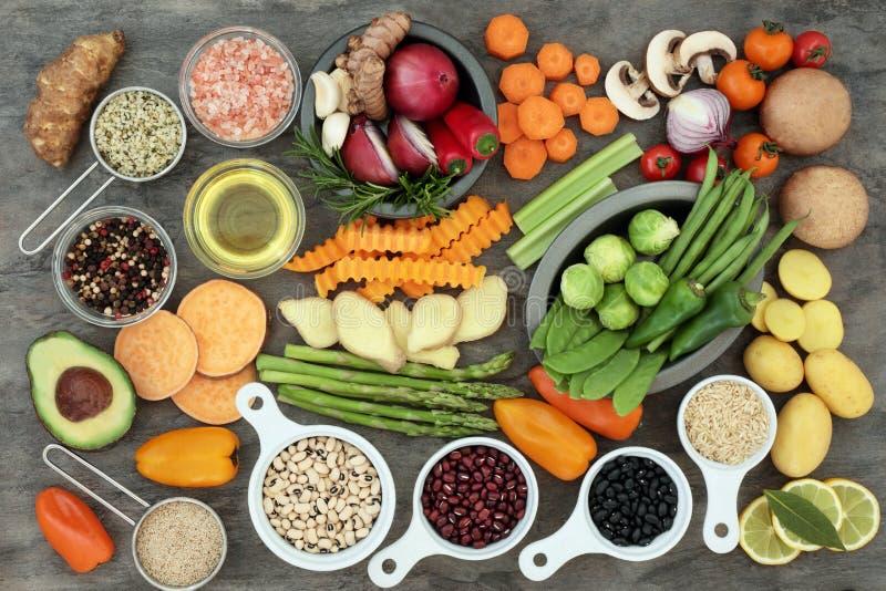Zdrowy łasowania jedzenie zdjęcie stock