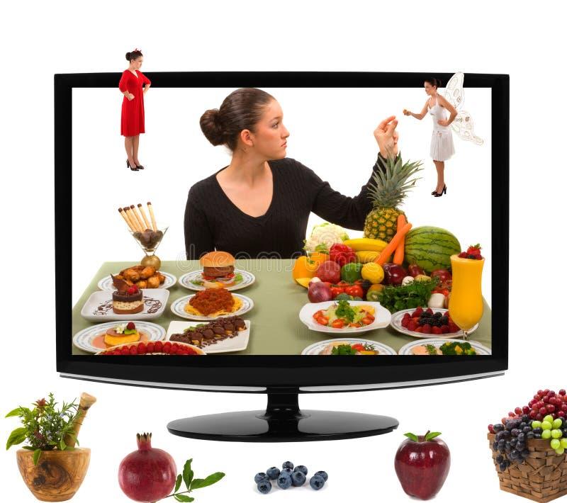 zdrowy łasowania jedzenie obrazy royalty free
