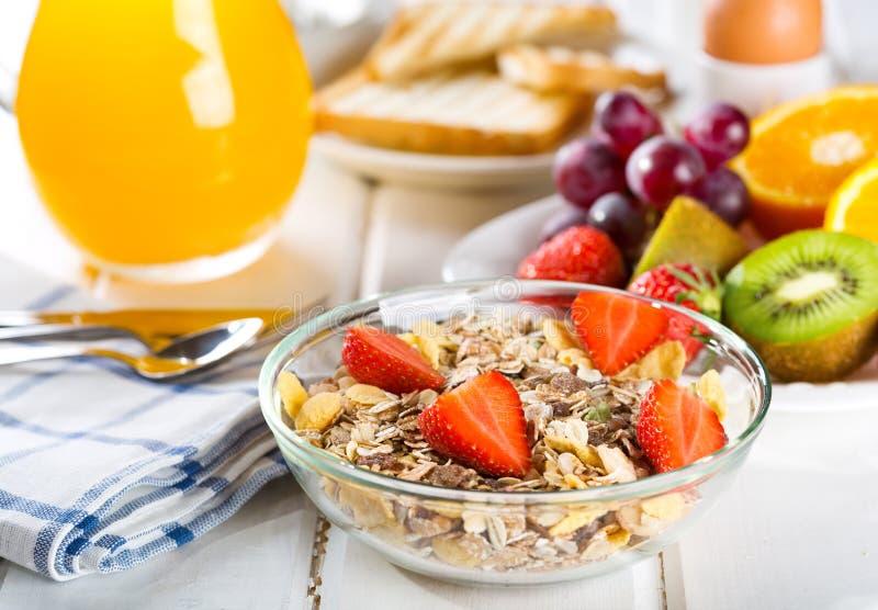 Zdrowy śniadanie obraz royalty free