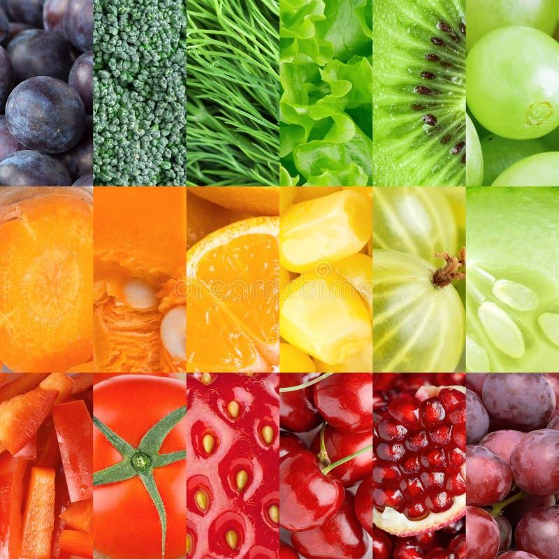 Zdrowy świeżej żywności tło zdjęcie royalty free
