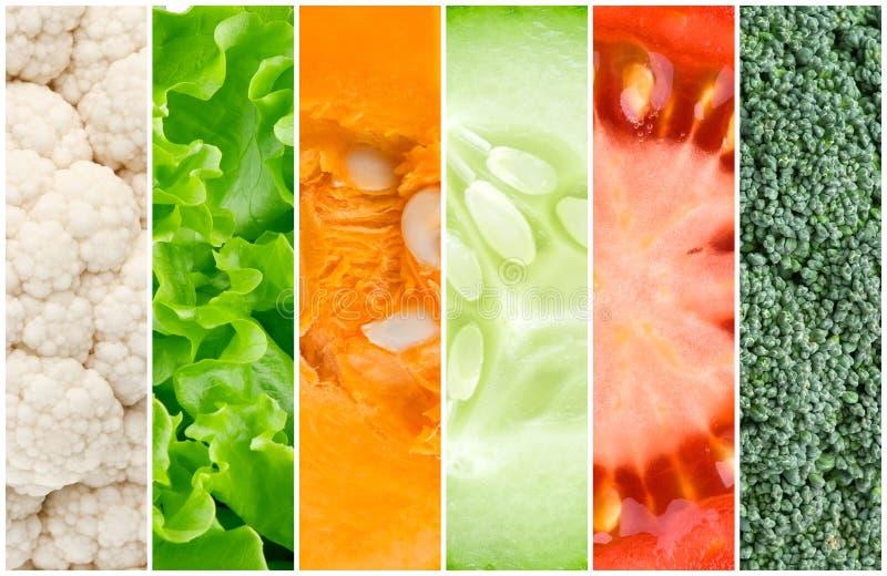 Zdrowy świeżych warzyw tło zdjęcie royalty free