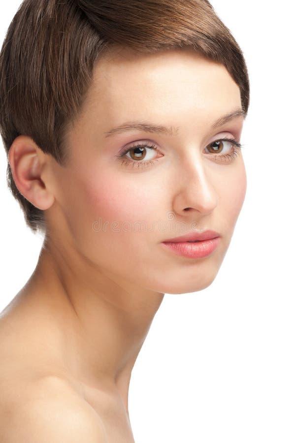 zdrowy doskonalić skóry kobiety fotografia stock