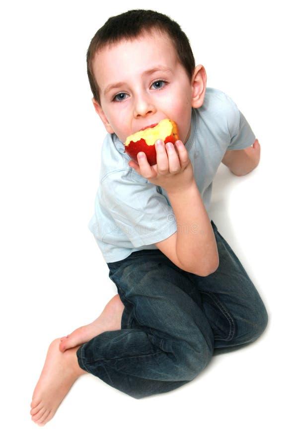 zdrowy dziecka jedzenie zdjęcie stock