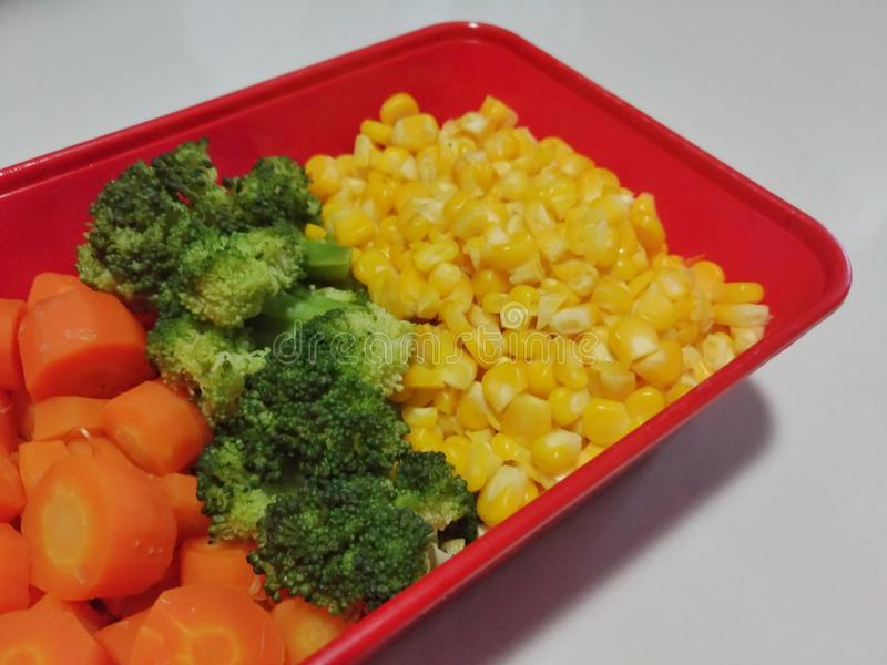 Zdrowy karmowy śniadanie obraz stock